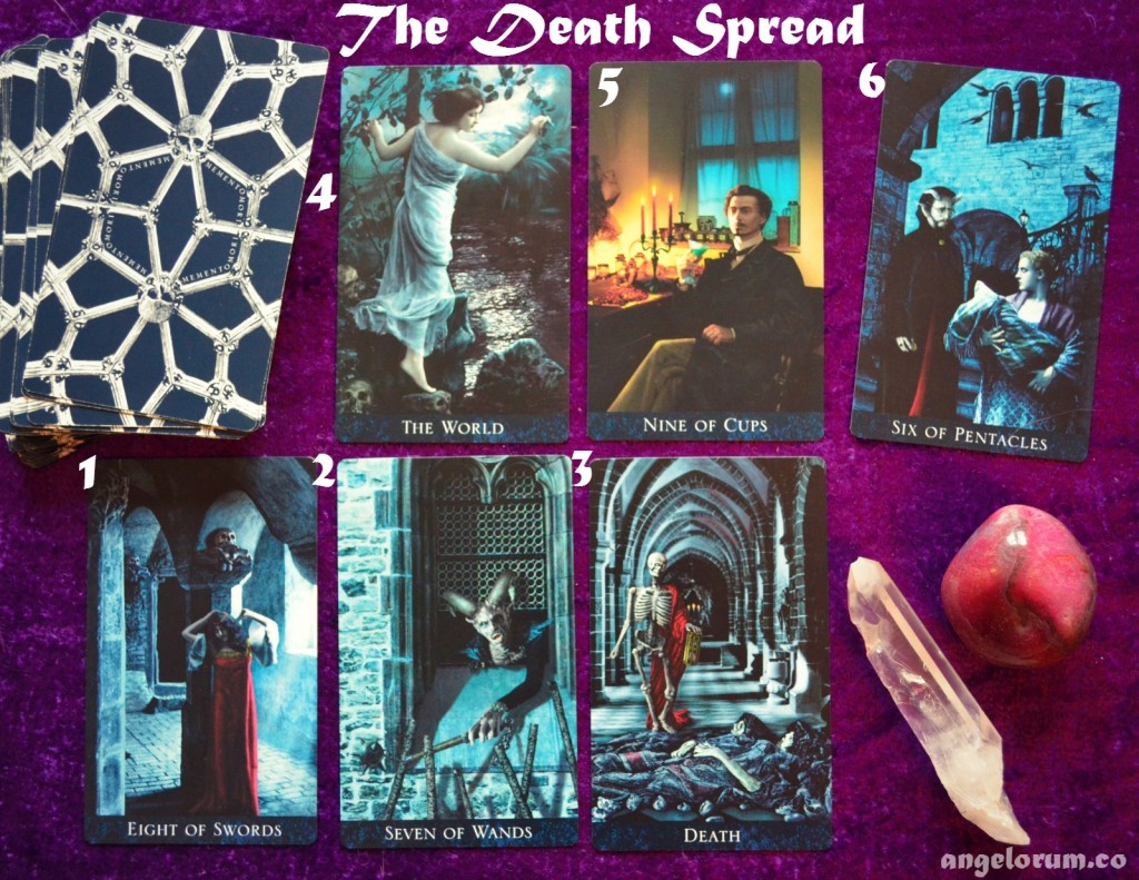 the death tarot spread