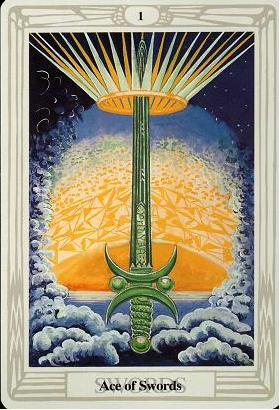 Ace of Swords, Thoth Tarot