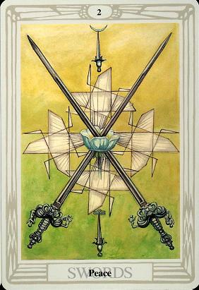 two of swords love relationship
