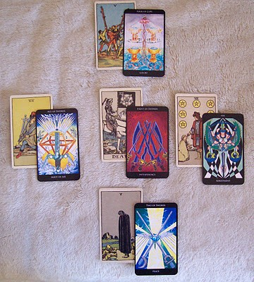 5 Stages of Grief Tarot Reading