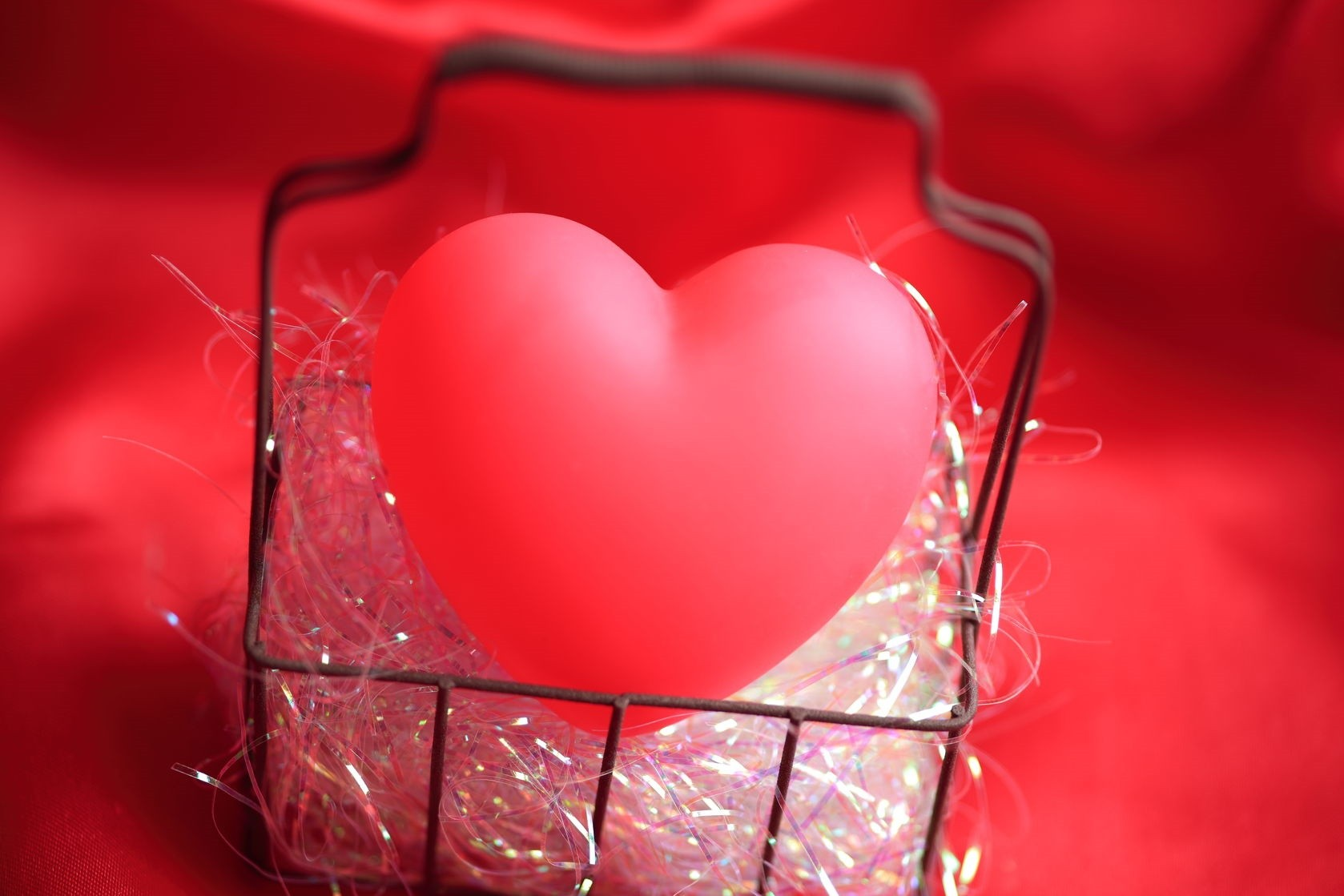 sweetie love heart in a basket
