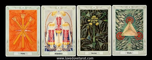 The Thoth Tarot 3's