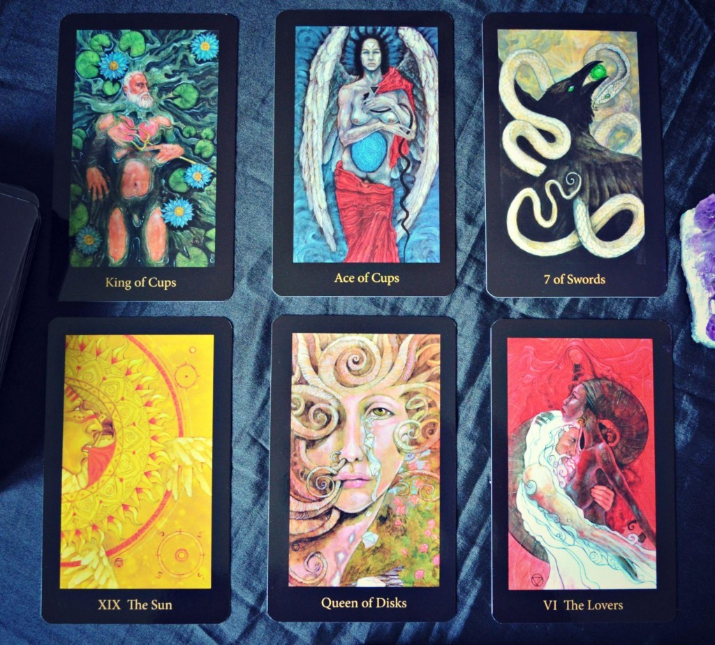 Mary-El Tarot by Marie White, Schiffer Publishing