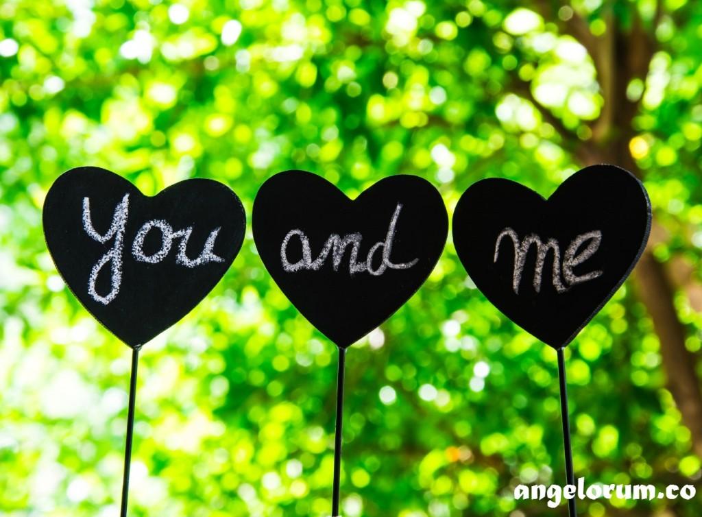 heart of the relationship angelorum tarot spread