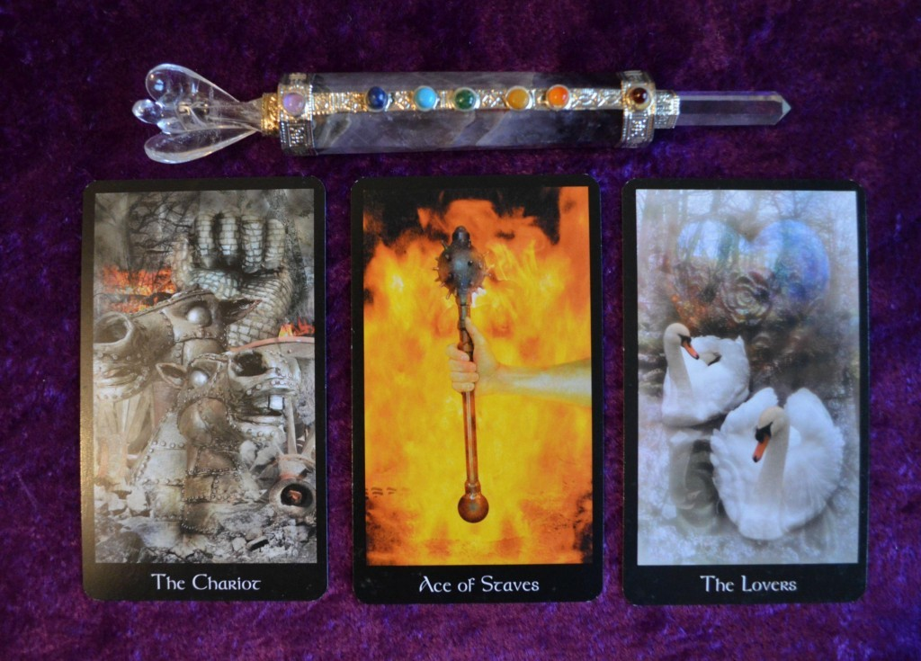 modern medieval tarot sample images 3