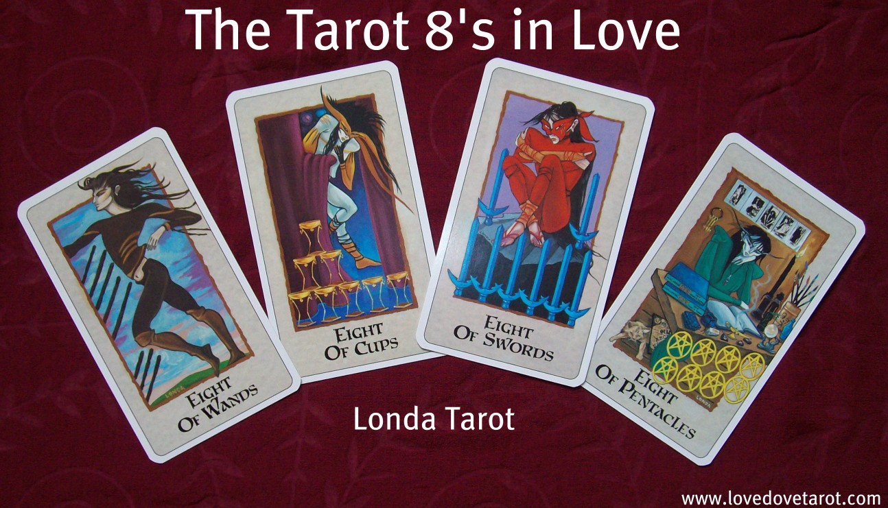 The Tarot 8's - Londa Tarot