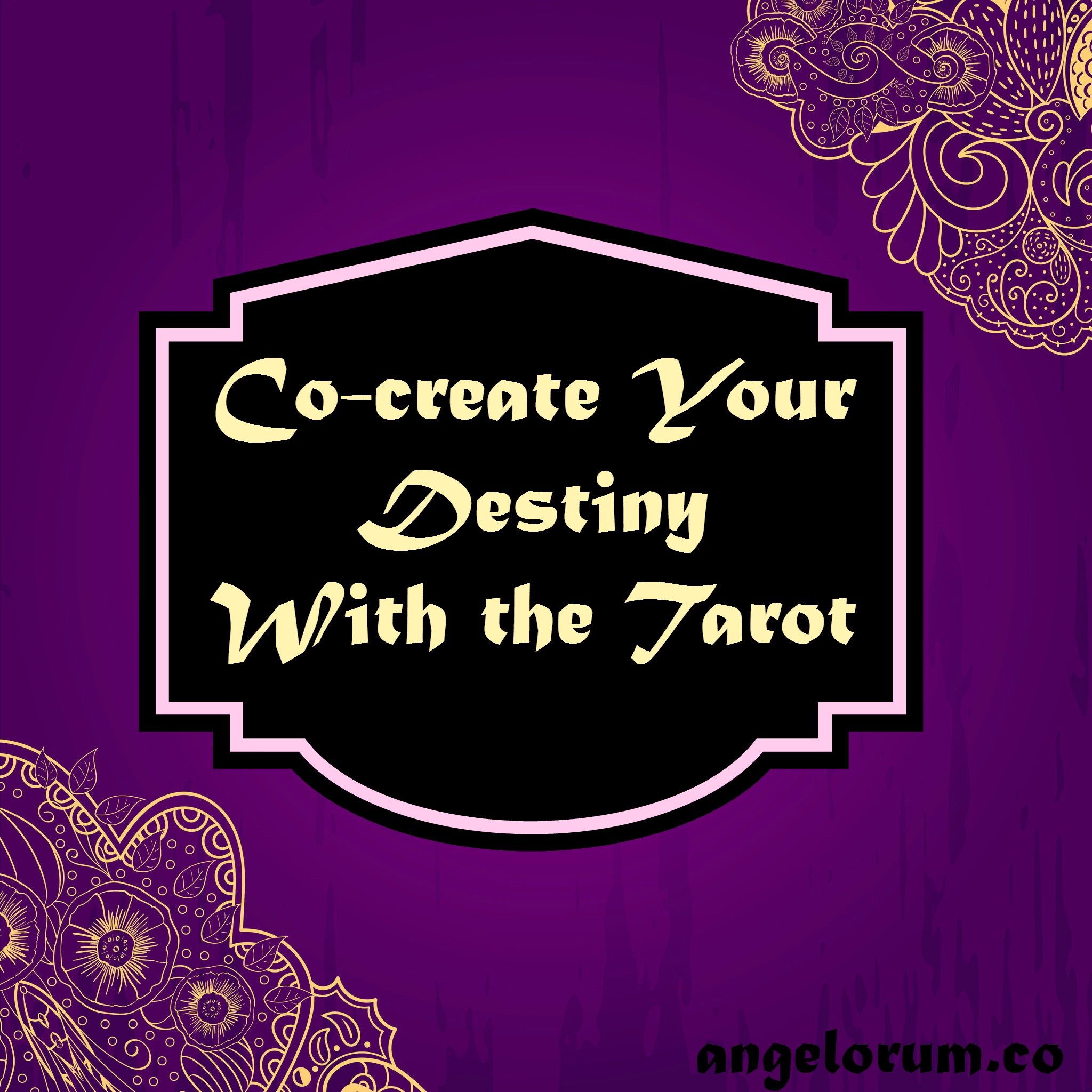 co-create your destiny with their tarot