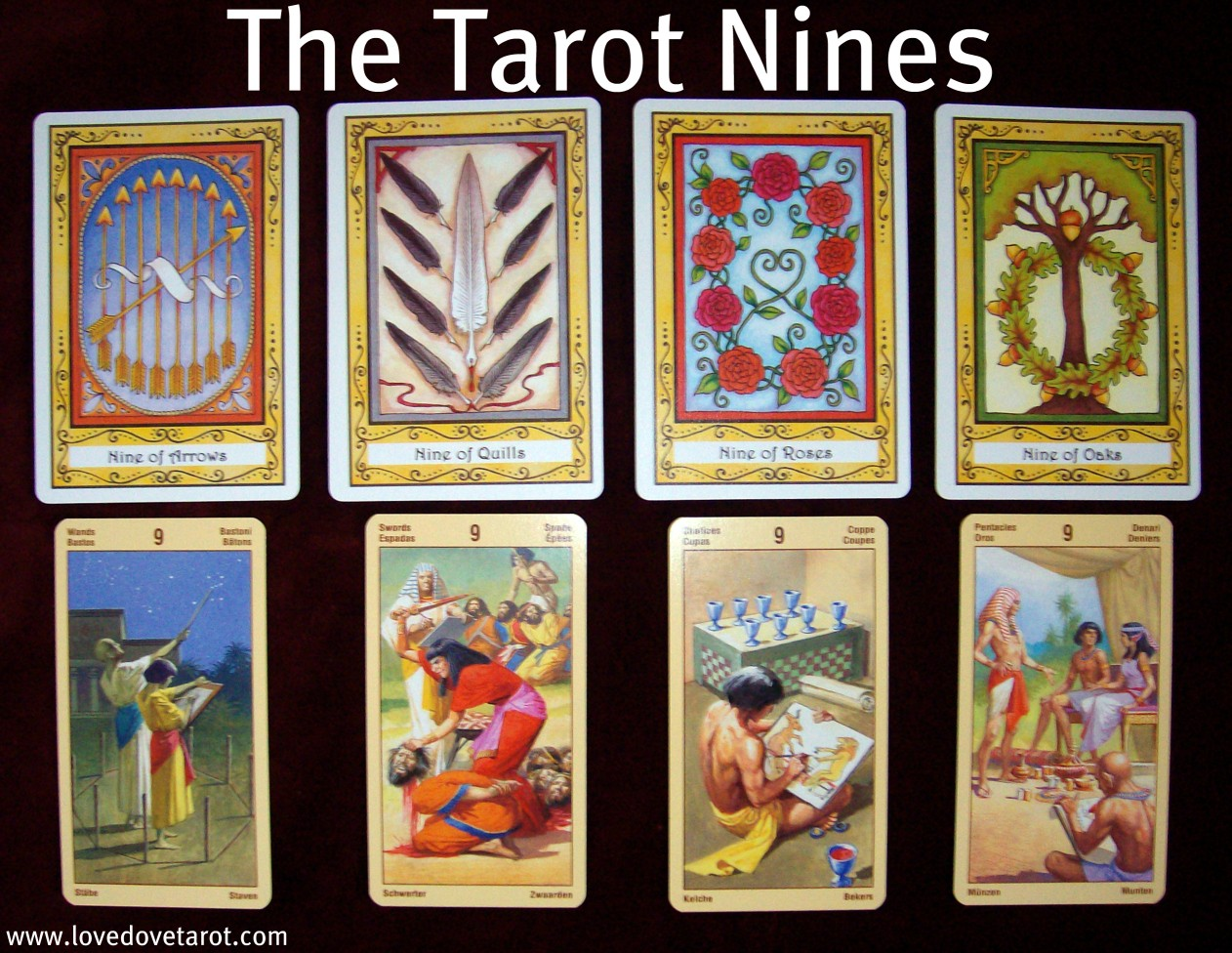 The Tarot 9's in Love