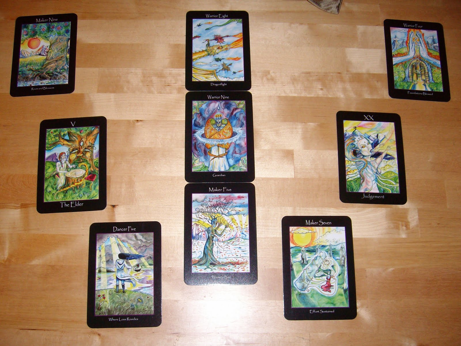 Smith & Wesson Tarot Spread