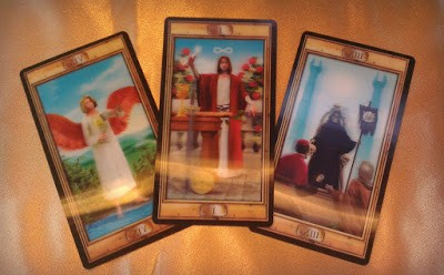 Combination Deck Interview with the 3D and Pictorial Key Tarot