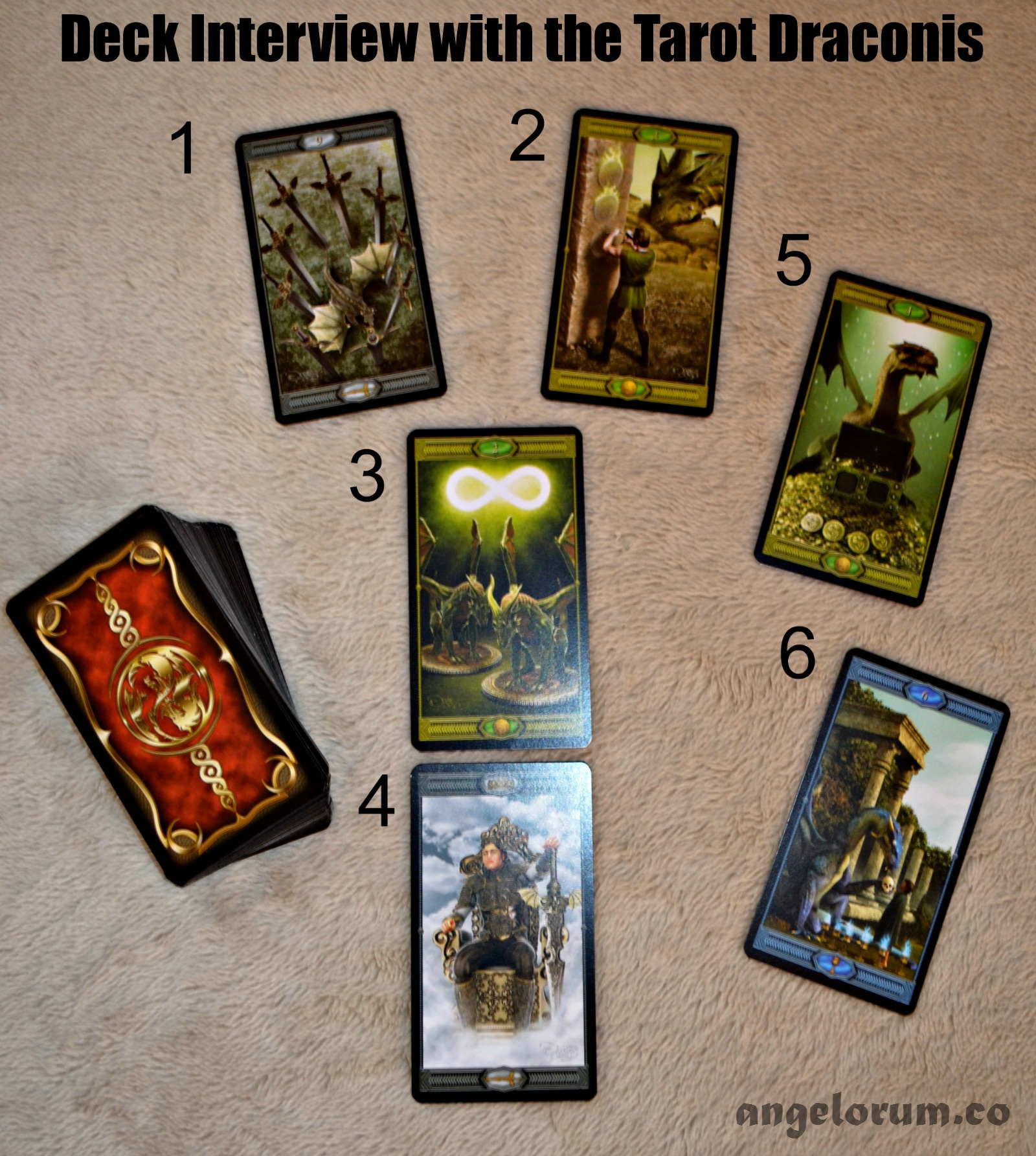 Tarot Draconis Deck Interview