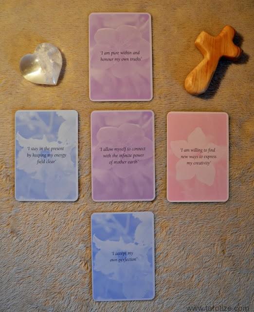 A Return to Innocence Tarot Spread Flower Spirit Oracle