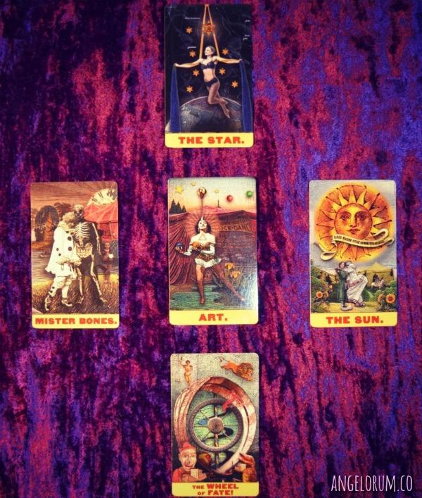 Black Moon Ritual Tarot Spread Zirkus Mägi