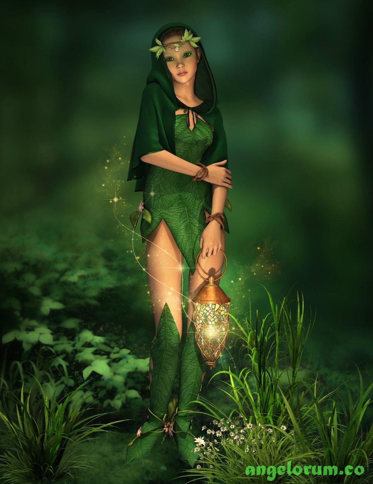 green fairy angelorum