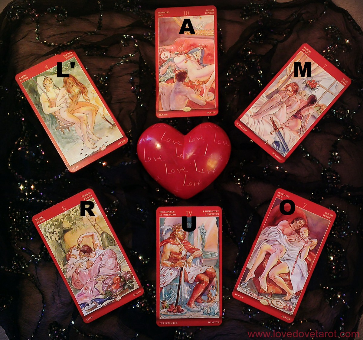 The Oh L'Amour Tarot Spread