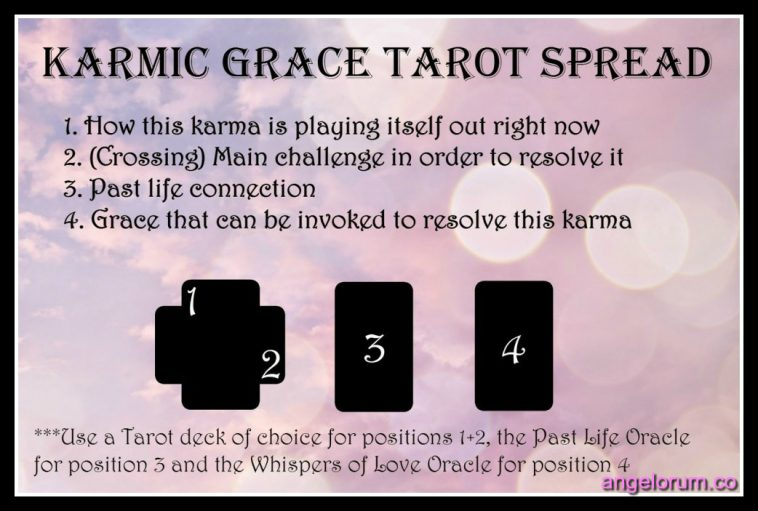 the karmic grace tarot spread