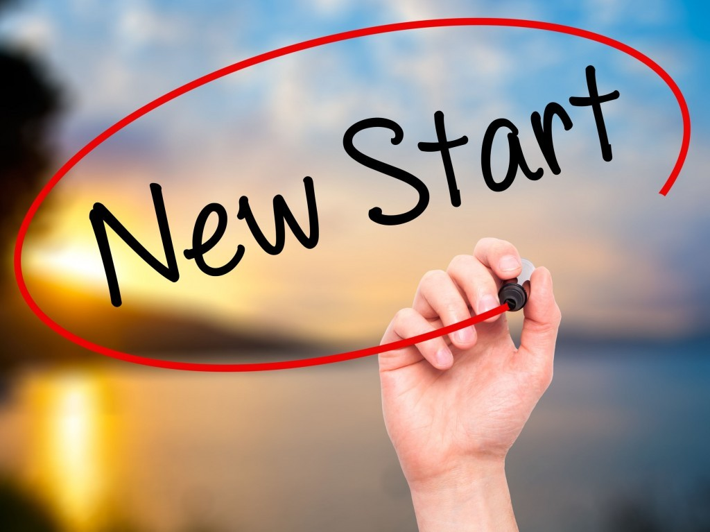 how to start a new life with god