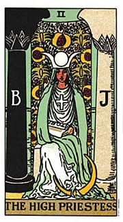 Correspondences and meanings for the High Priestess