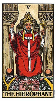 The Hierophant - Holistic Tarot Card Meanings