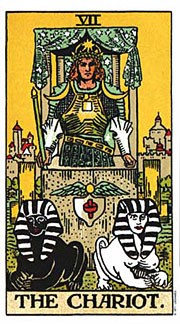 Holistic Tarot Card Meanings for The Chariot