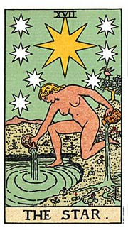 Holistic Tarot Card meanings and correspondences for The Star