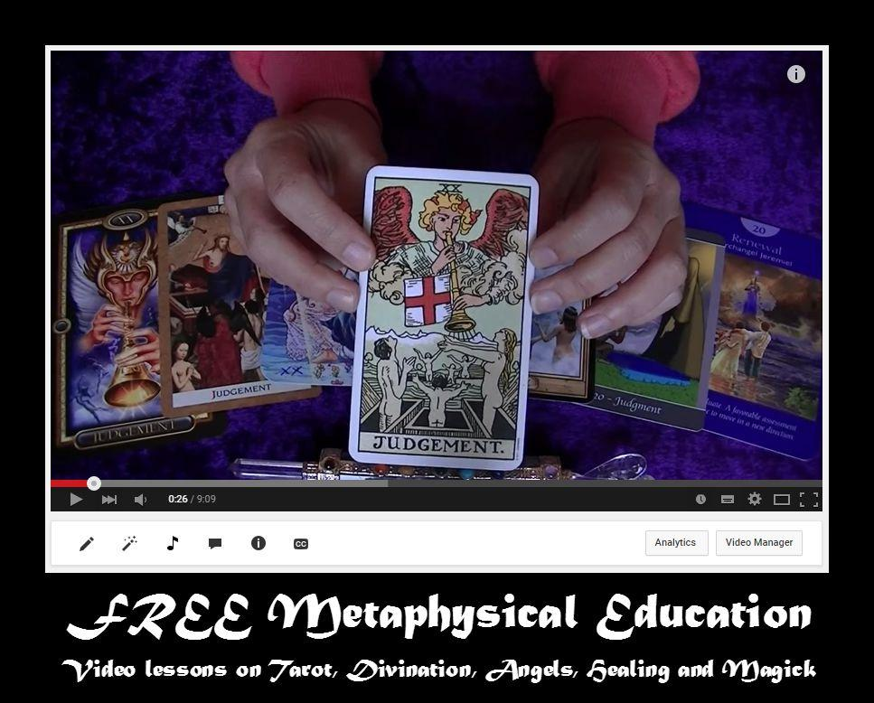 video library magic, healing, angels tarot