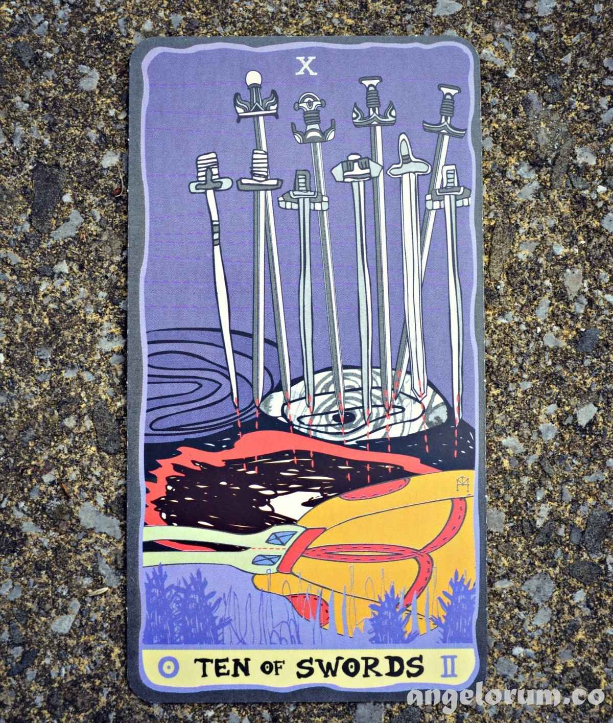 10 of Swords Sakki Sakki Tarot