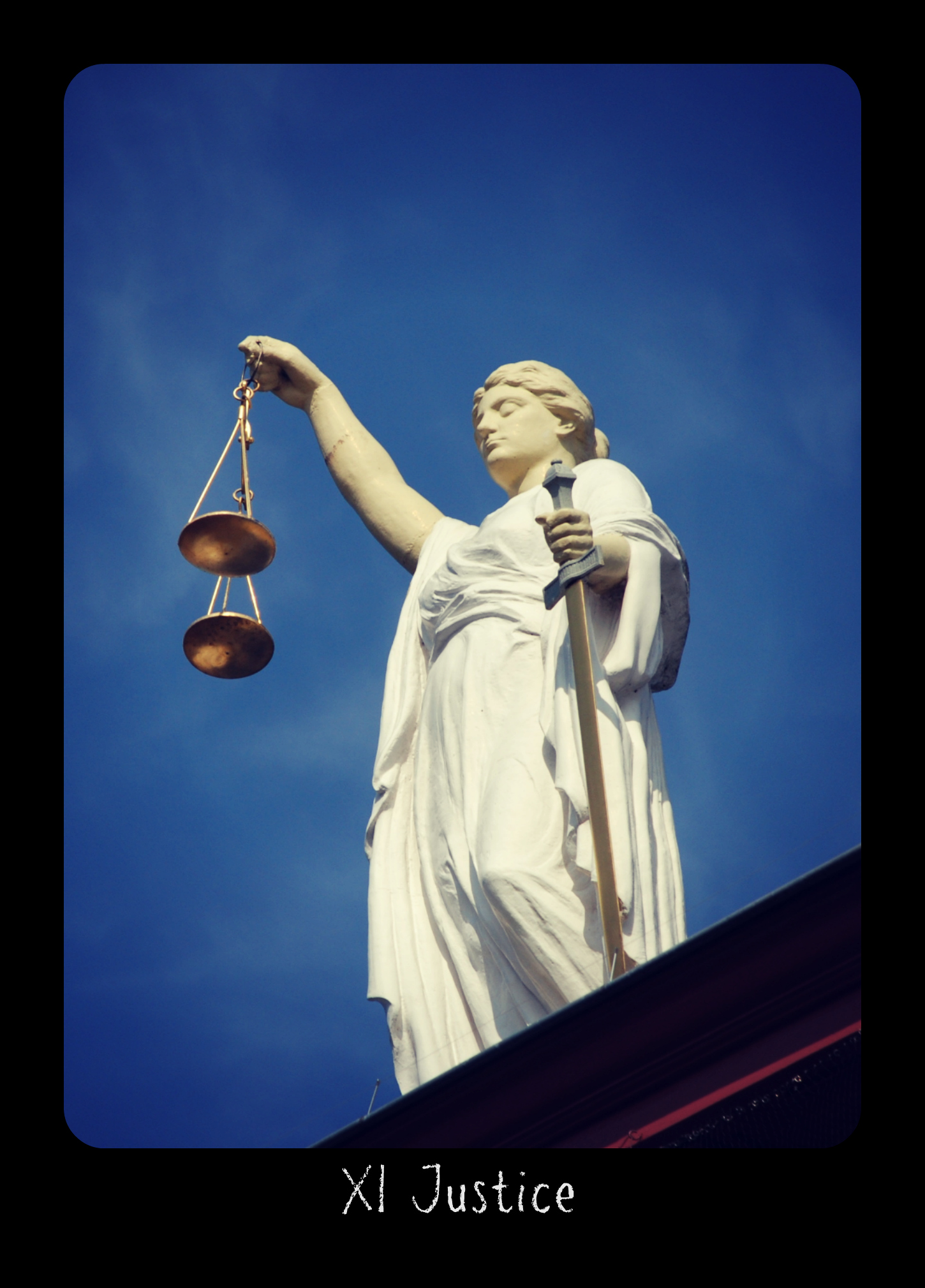 Holistic Tarot card meanings and correspondences for Justice