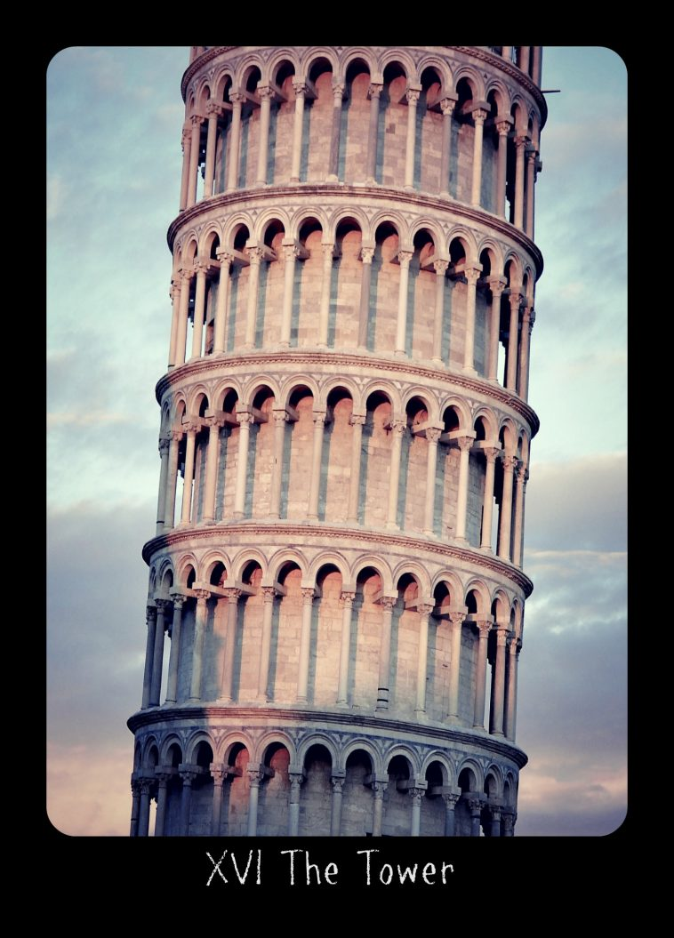 Holistic #Tarot card meanings and correspondences for The Tower