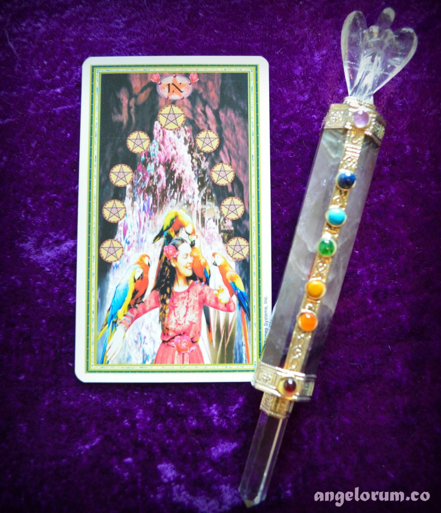 9 of wands and pentacles relationship