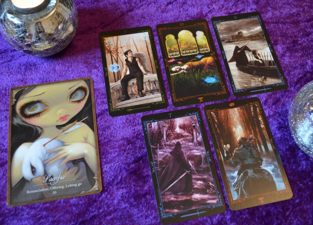 Dark Fairytale Tarot and Les Vampires