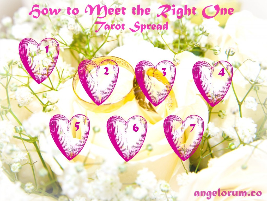 How to Meet the Right One Tarot Spread