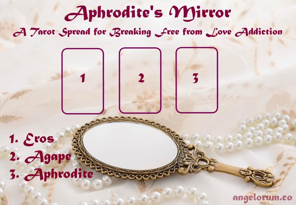 Aphrodite's Mirror Tarot Spread