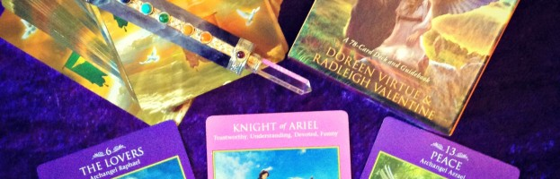 Deck Interview with the Archangel Power Tarot