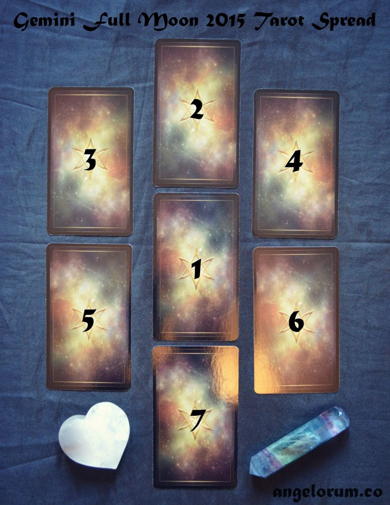 Gemini Full Moon 2015 Tarot Spread