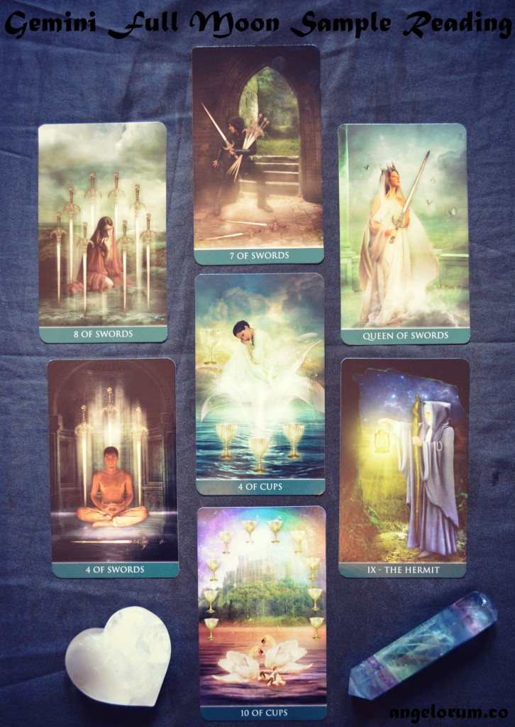 Gemini Full Moon Tarot Spread 2015