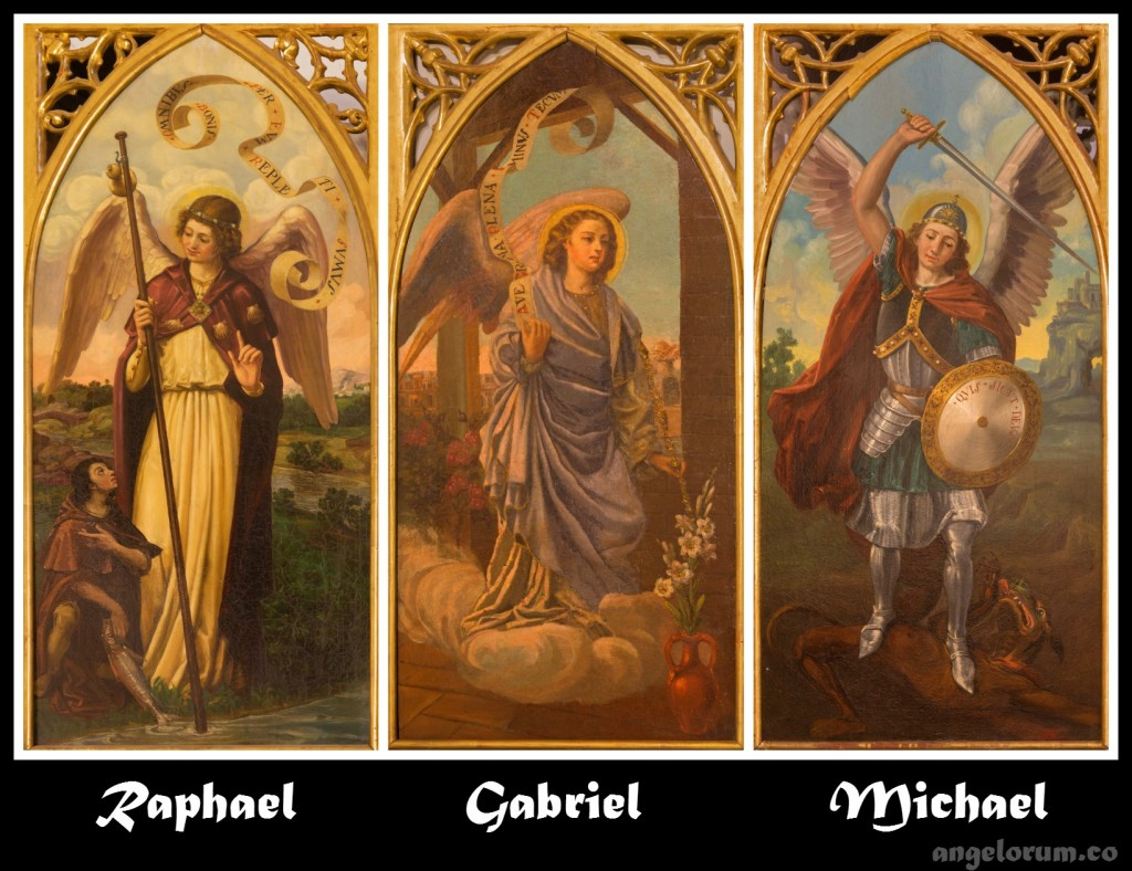 Three Archangels Collage