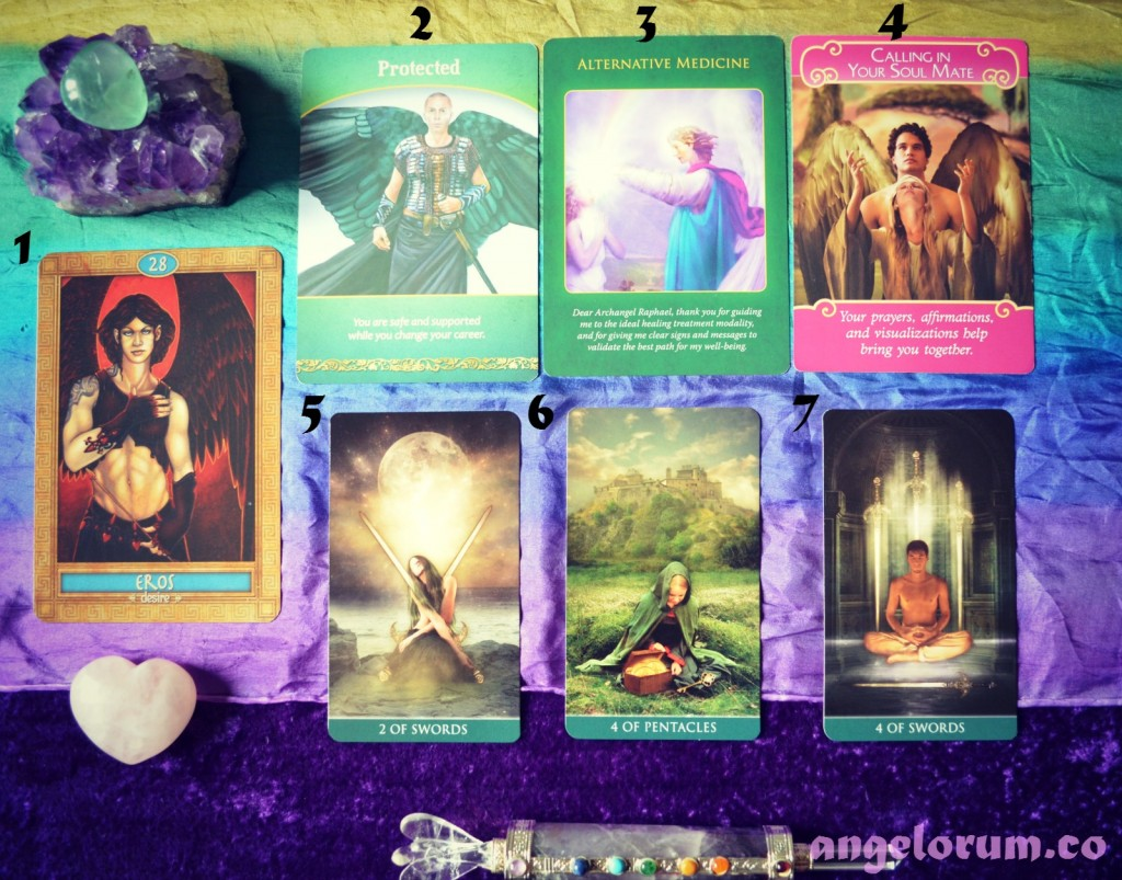 Weekly Angelic Tarot and Oracle Forecast for HSP's week beginning 9 November