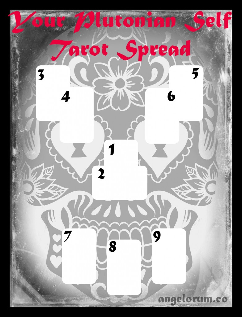 Your Plutonian Self Tarot Spread