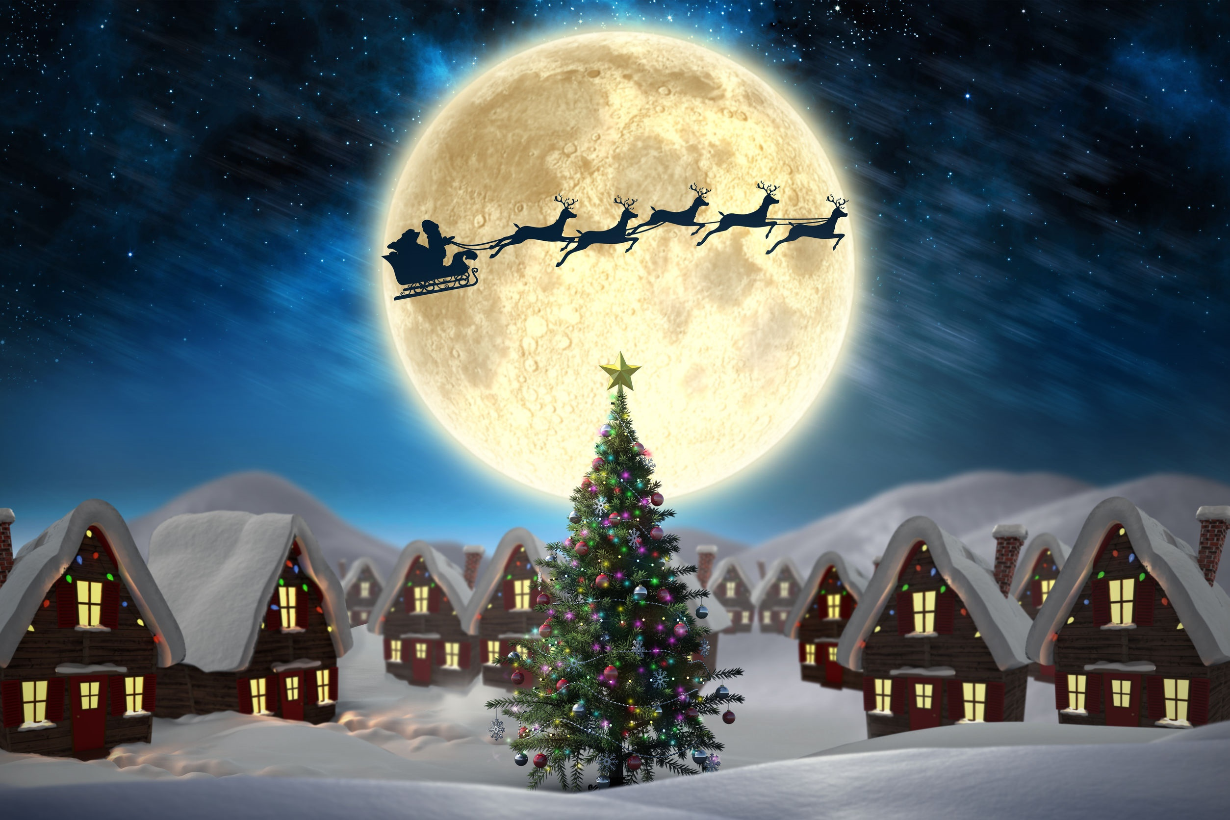 How to Enjoy the Christmas Day Full Moon