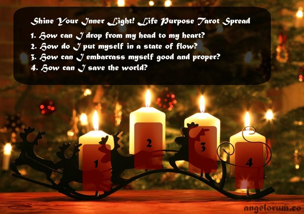 Shine Your Inner Light Life Purpose Tarot Spread