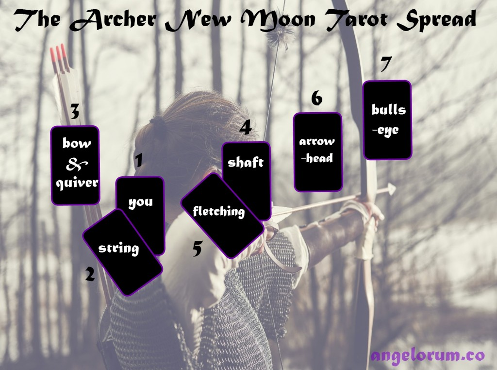 The Archer Sagittarius New Moon Tarot Spread