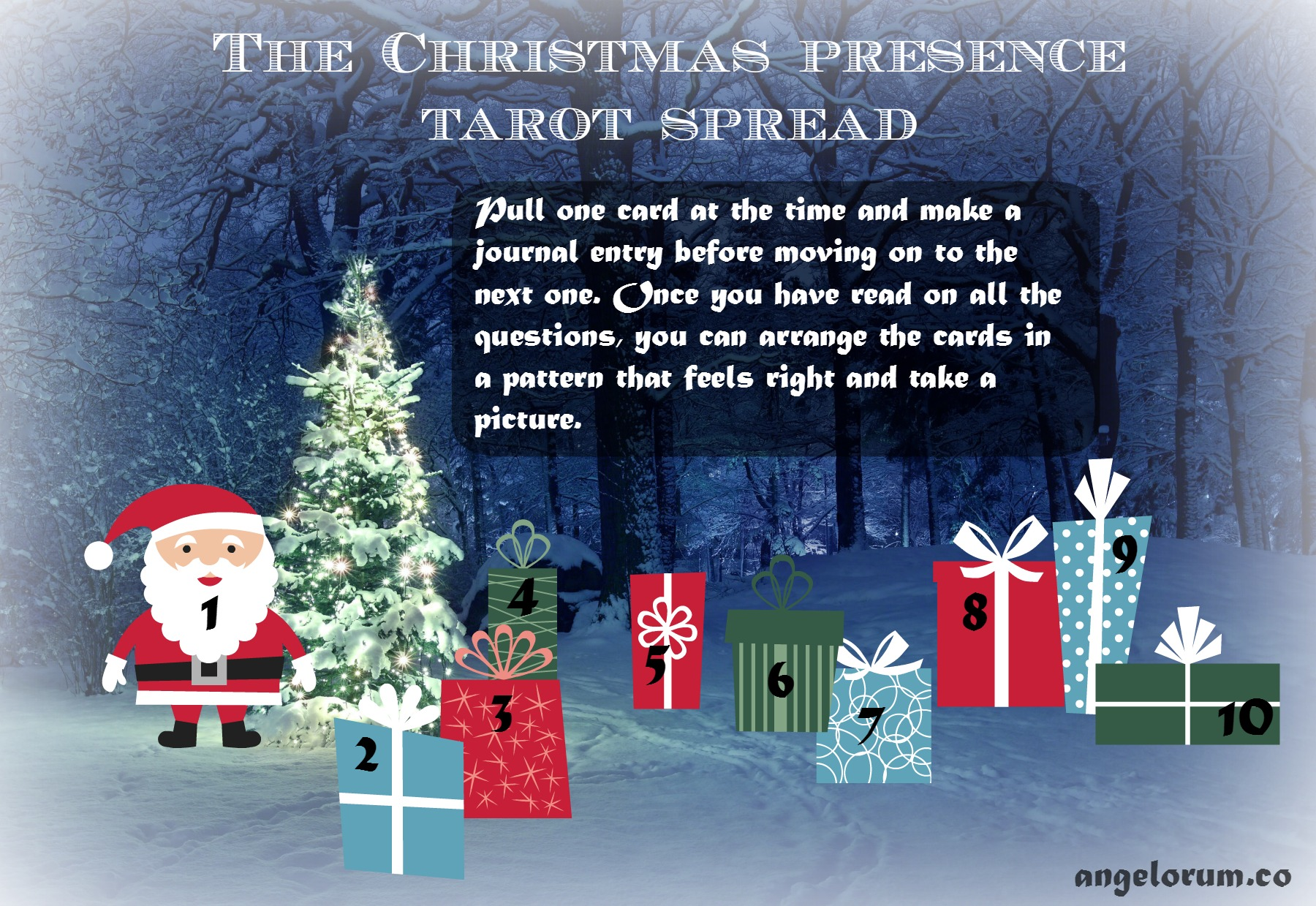 The Christmas Presence Tarot Spread