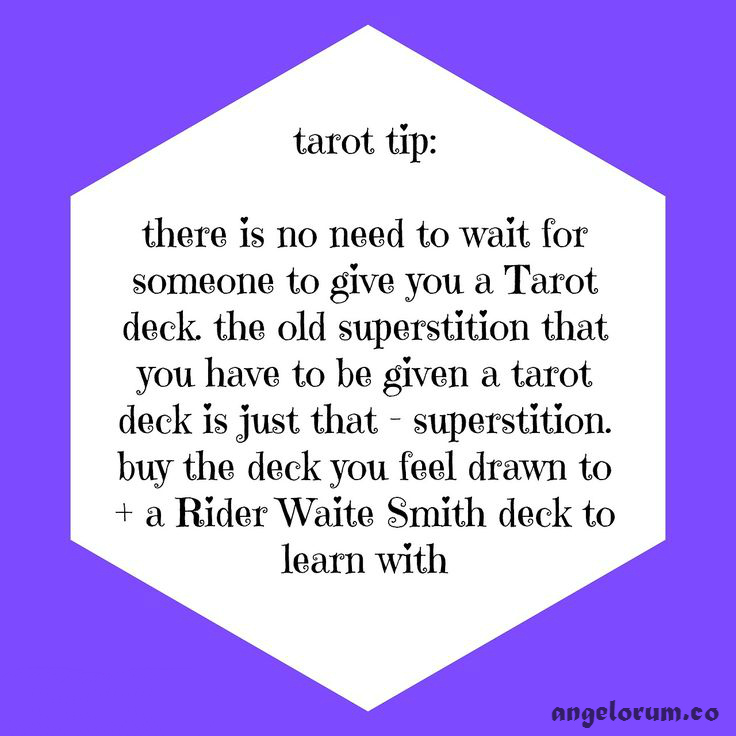 1. tarot tip superstition