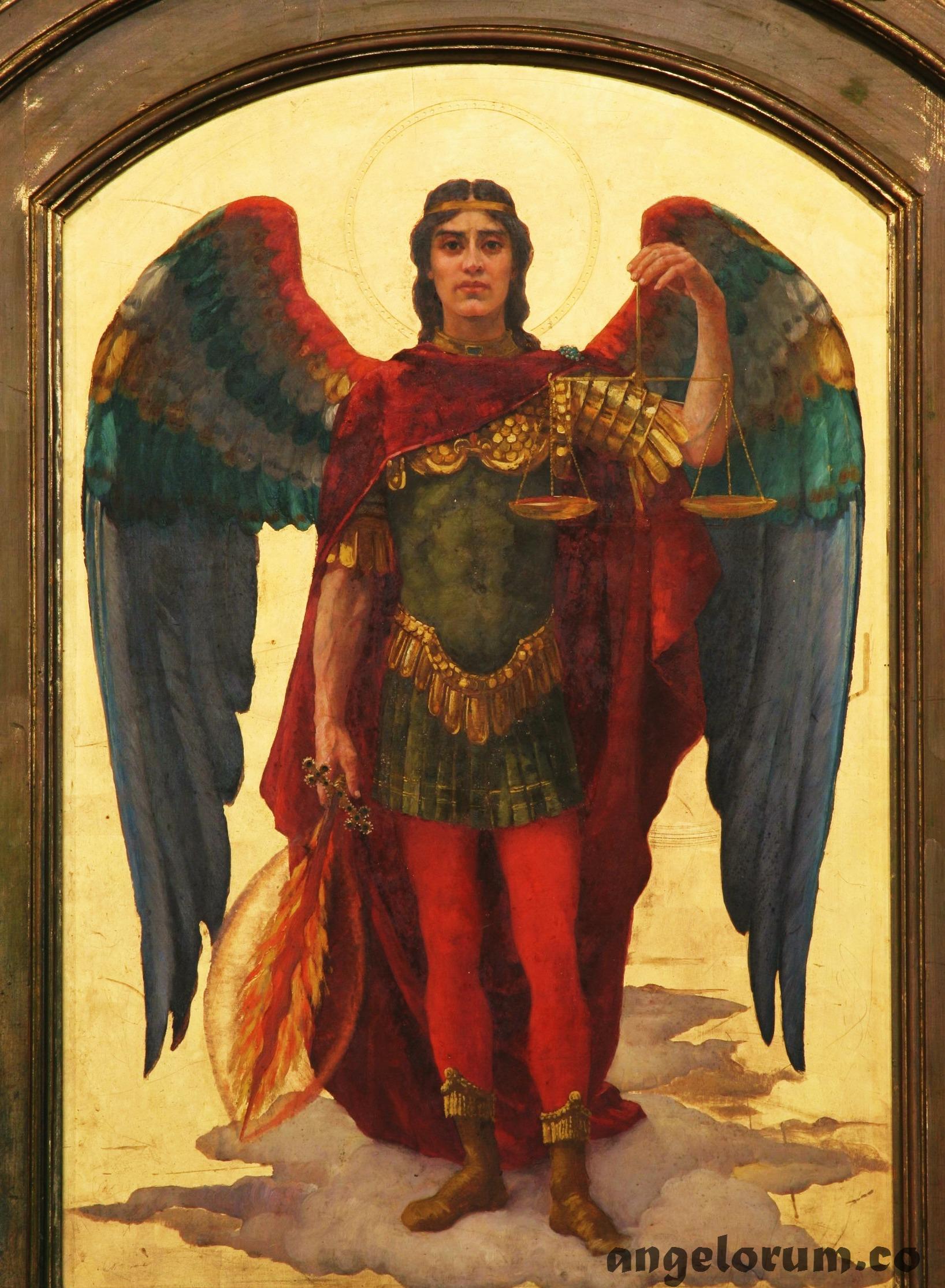 archangel michael red