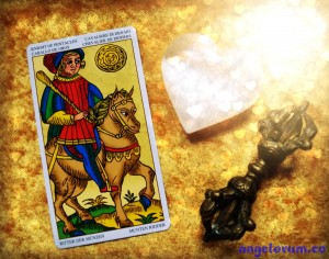 empress and knight of pentacles relationship