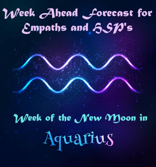 New Moon in Aquarius Week Ahead Forecast