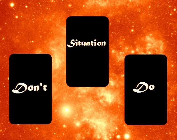 do don't tarot 3 card spread