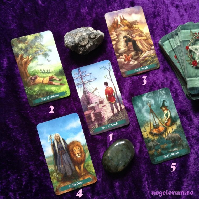 Deck Interview with the Green Witch Tarot