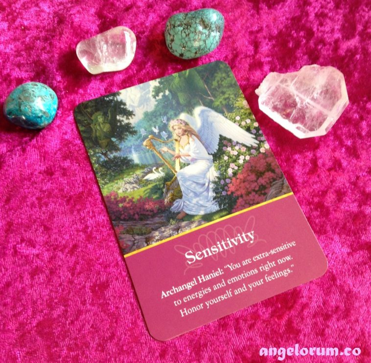 Sensitivity from the Archangel Oracle